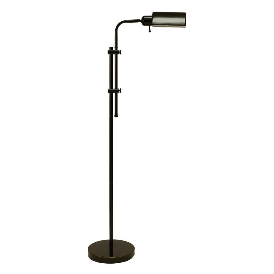 Decor Therapy 60.5-in Oil Rubbed Bronze Pharmacy Floor Lamp with Metal Shade