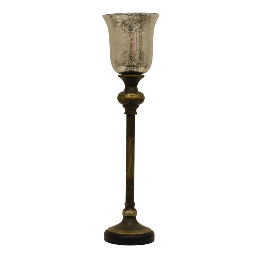 Dcor Therapy 25.25-in Constintine Indoor Table Lamp with Glass Shade