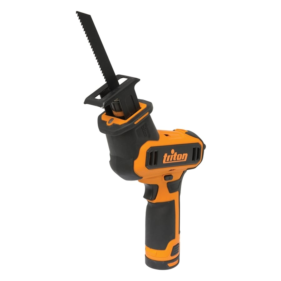 Triton Tools 12-Volt Variable Speed Cordless Reciprocating Saw with Battery