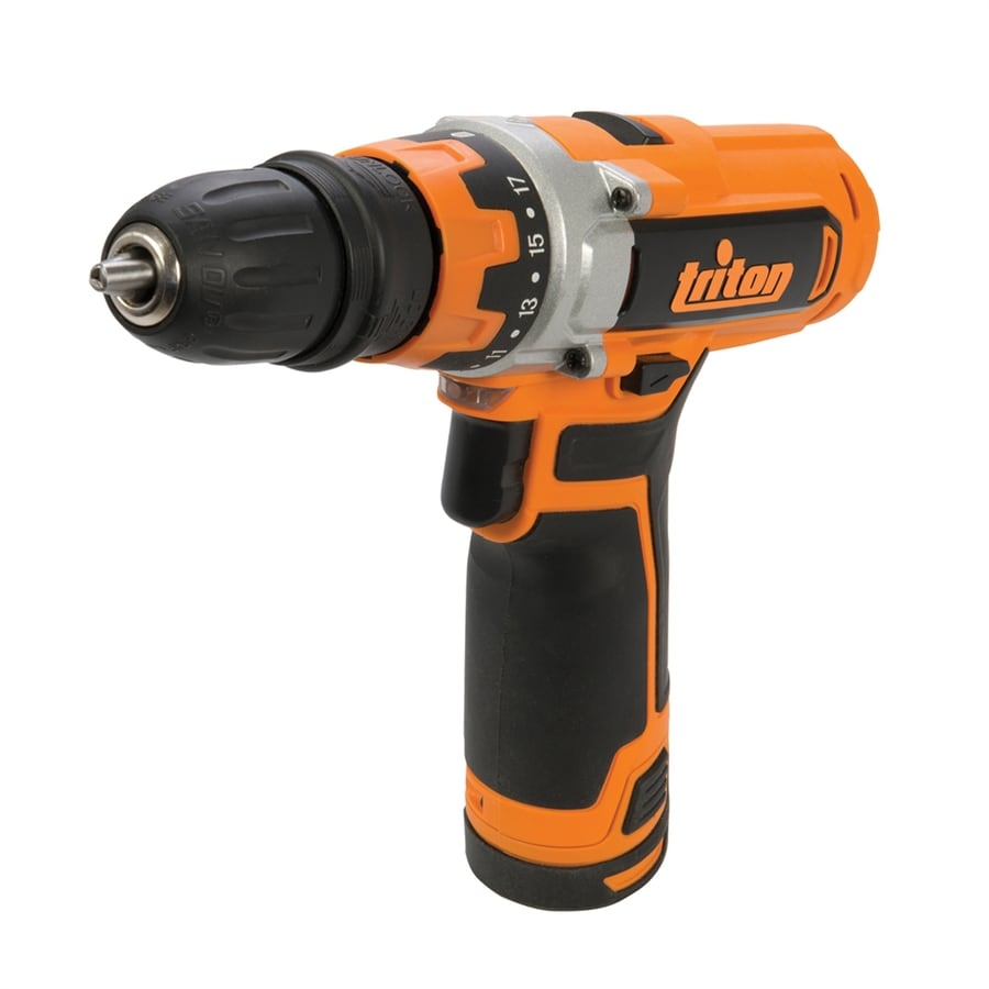 Triton Tools 12-Volt 3/8-in Cordless Drill with Battery and Soft Case