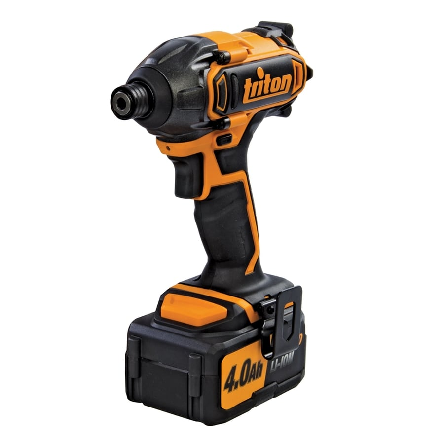 Triton Tools 20-Volt Lithium Ion (Li-ion) 1/4-in Cordless Variable Speed Impact Driver with Soft Case