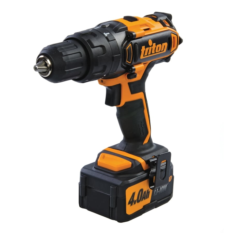 Triton Tools 20-Volt 1/2-in Cordless Drill with Battery and Soft Case