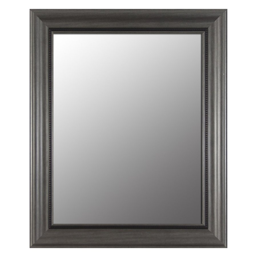 Decor Therapy Pewter Beveled Wall Mirror