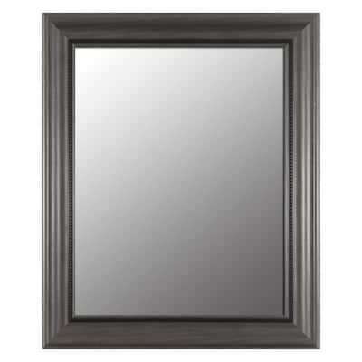 Pewter Beveled Wall Mirror At Lowes