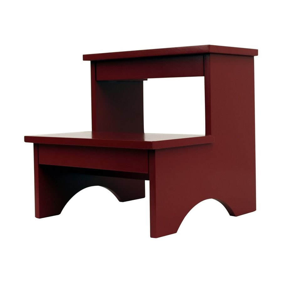 Dcor Therapy 2-Step 110-lb Load Capacity Red Composite Step Stool