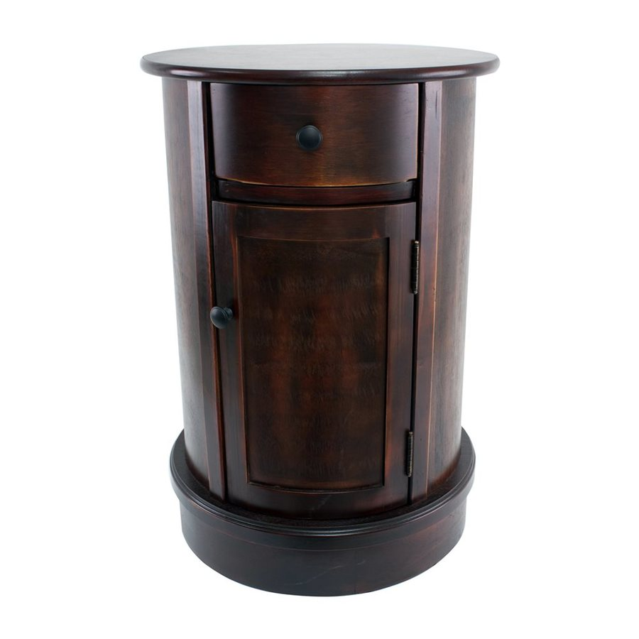 Decor Therapy Vintage Cherry Oak End Table
