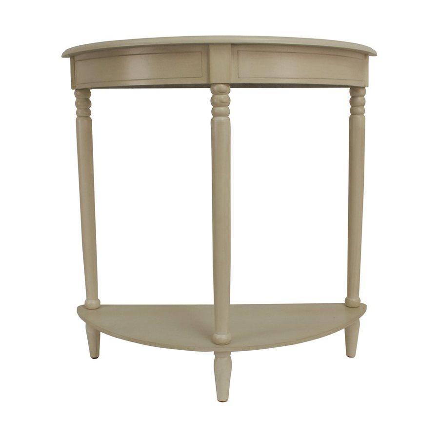 Decor Therapy Simplicity Oak Console Table