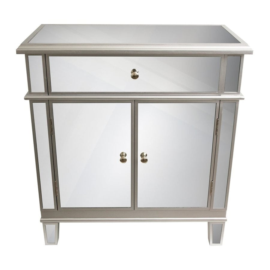 Decor Therapy Silver Leaf Etagere