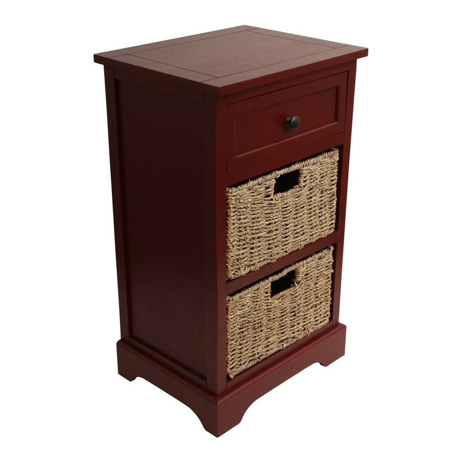 shop decor therapy antique dark red etagere at. Black Bedroom Furniture Sets. Home Design Ideas