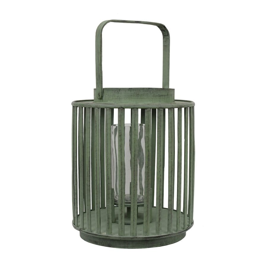 Dcor Therapy 1 Candle Bamboo Green Lantern Any Occasion Candle Holder