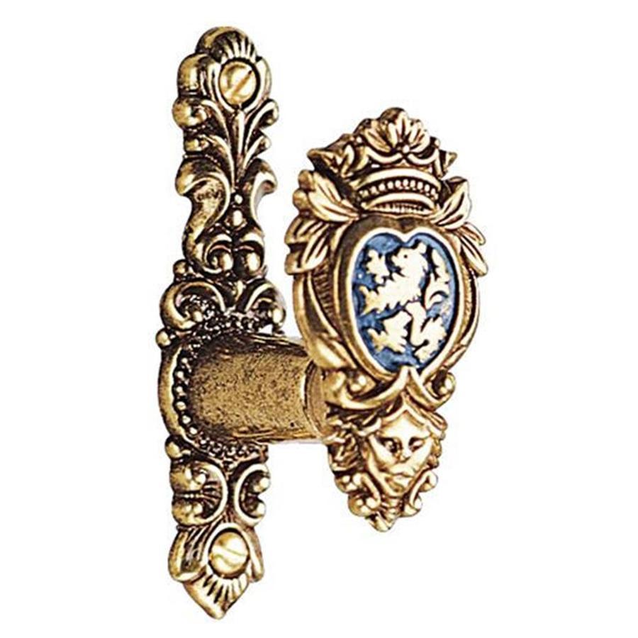 Design Toscano Pewter and Gold Clothesline Hook