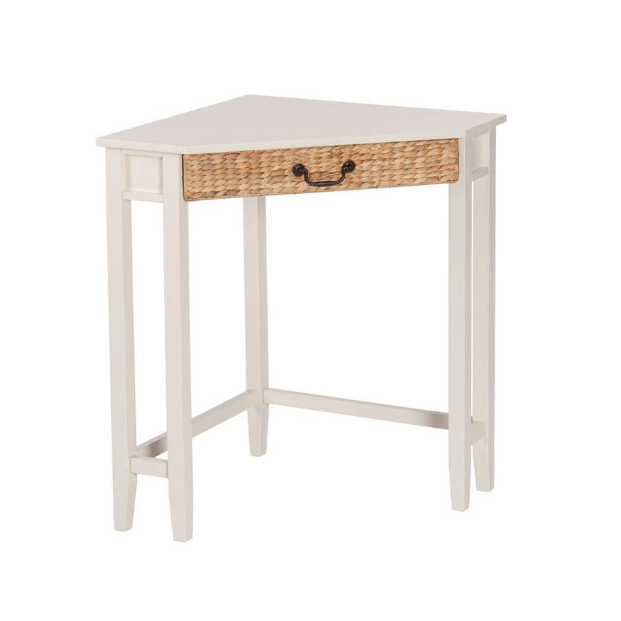 Boston Loft Furnishings Colista White Corner Desk