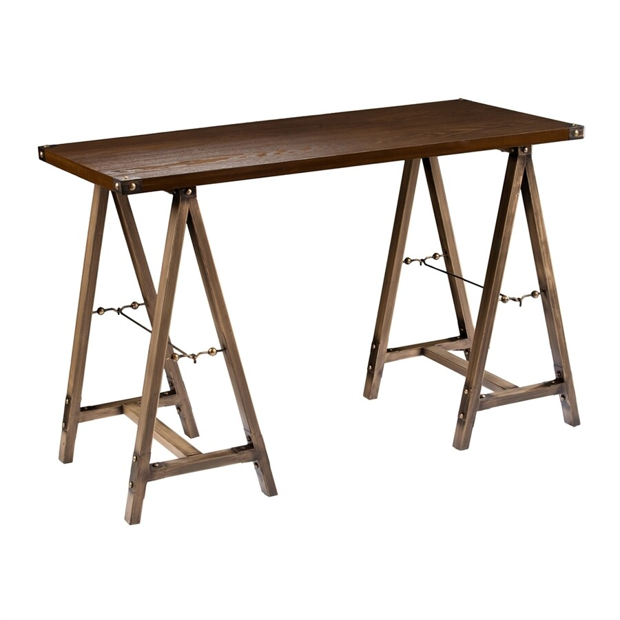 Boston Loft Furnishings Dauntry Transitional Weathered Oak Writing Desk