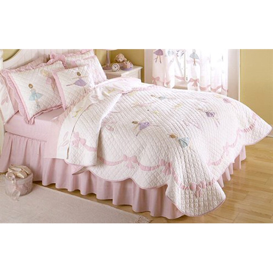 My World Ballet Lessons 2-Piece Twin Quilt Set
