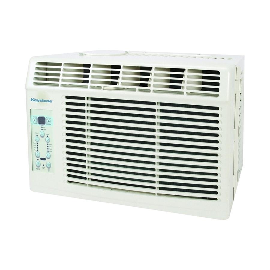 Keystone 6,000-BTU 250-sq ft 115-Volt Window Air Conditioner ENERGY STAR