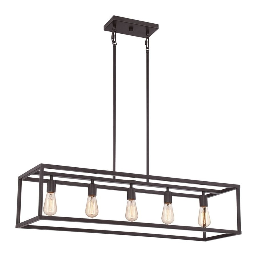 Shop Quoizel New Harbor 38-in W 5-Light Western Bronze