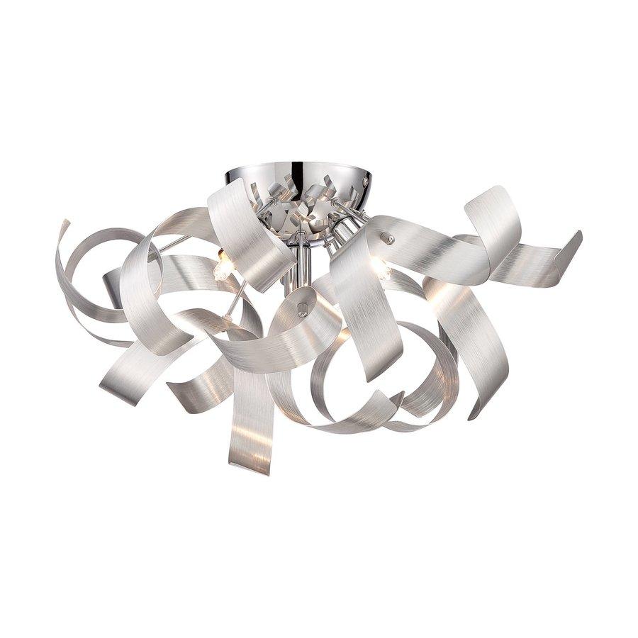 Quoizel Ribbons 16.5-in W Millenia Metal Semi-Flush Mount Light