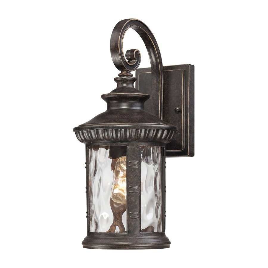 Quoizel Chimera 15.5-in H Imperial Bronze Medium Base (E26) Outdoor Wall Light