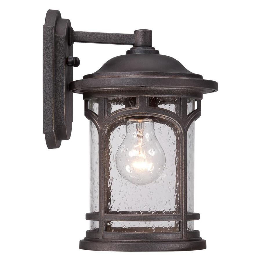 Quoizel Marblehead 11-in H Palladian Bronze Outdoor Wall Light