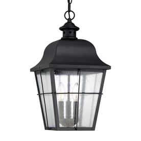 Quoizel Millhouse 19 In Mystic Black Outdoor Pendant Light