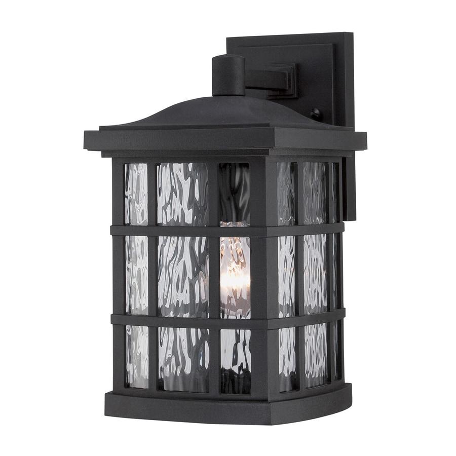 Quoizel Stonington 13-in H Mystic Black Outdoor Wall Light