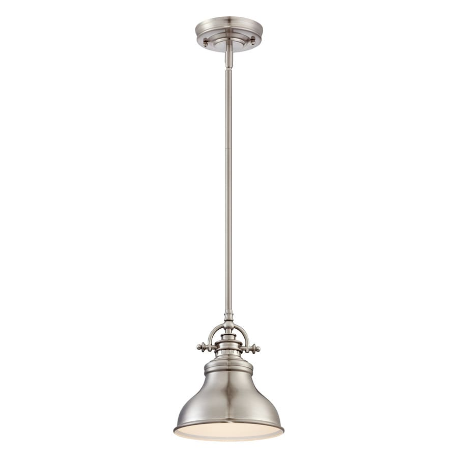 Quoizel Emery Brushed Nickel Mini Modern Contemporary