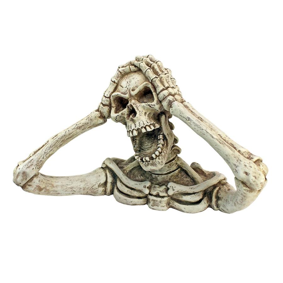 Design Toscano Shriek Freestanding Skeleton Sculpture