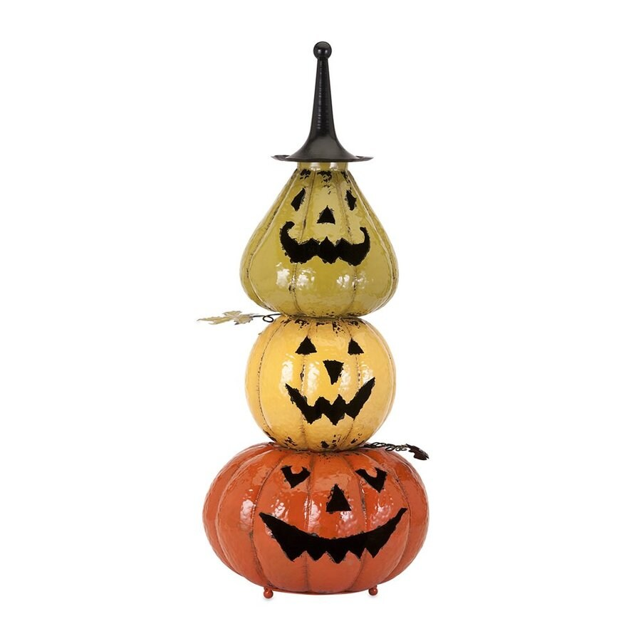 Imax Worldwide Viggo Freestanding Pumpkin Stack Figurine
