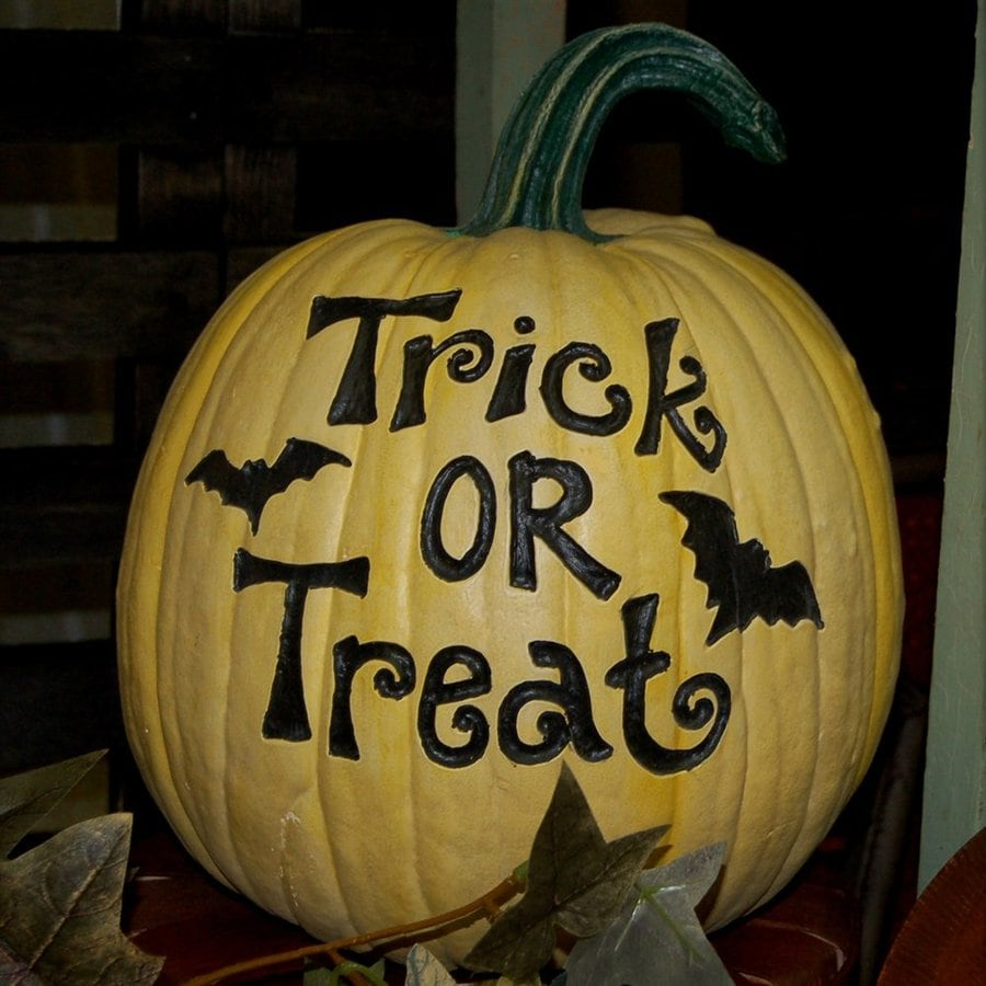 Craft-Tex Trick or treat Pumpkin Sculpture