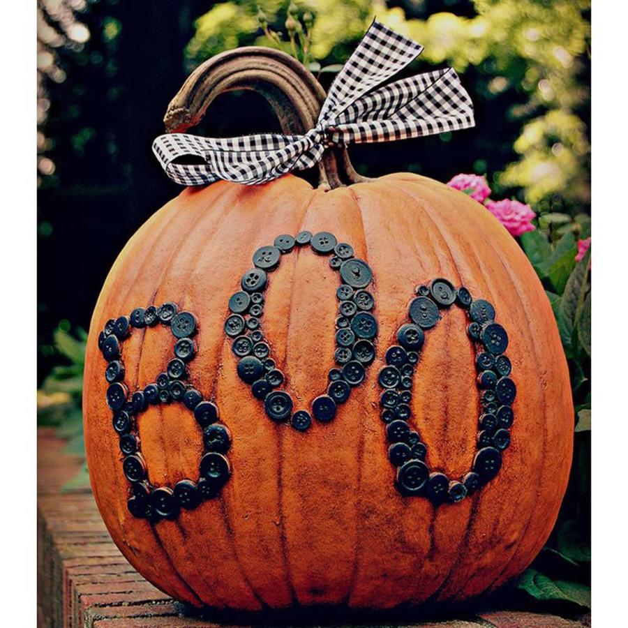 Craft-Tex Boo Pumpkin Sculpture