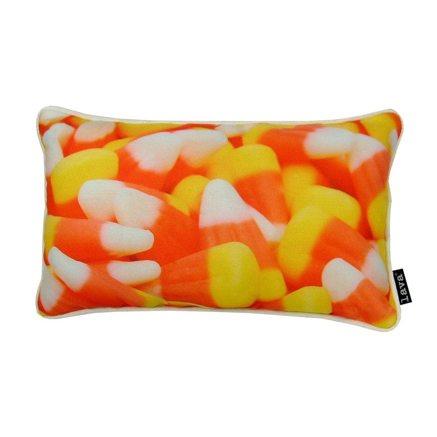 Lava Candy Corn Decorative Pillow