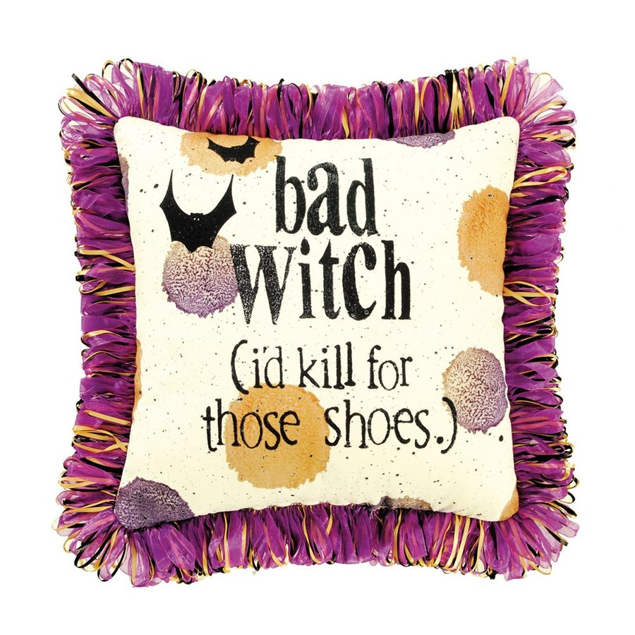 C&F Enterprises Bad Witch (I'd Kill For Those Shoes) Witch Pillow