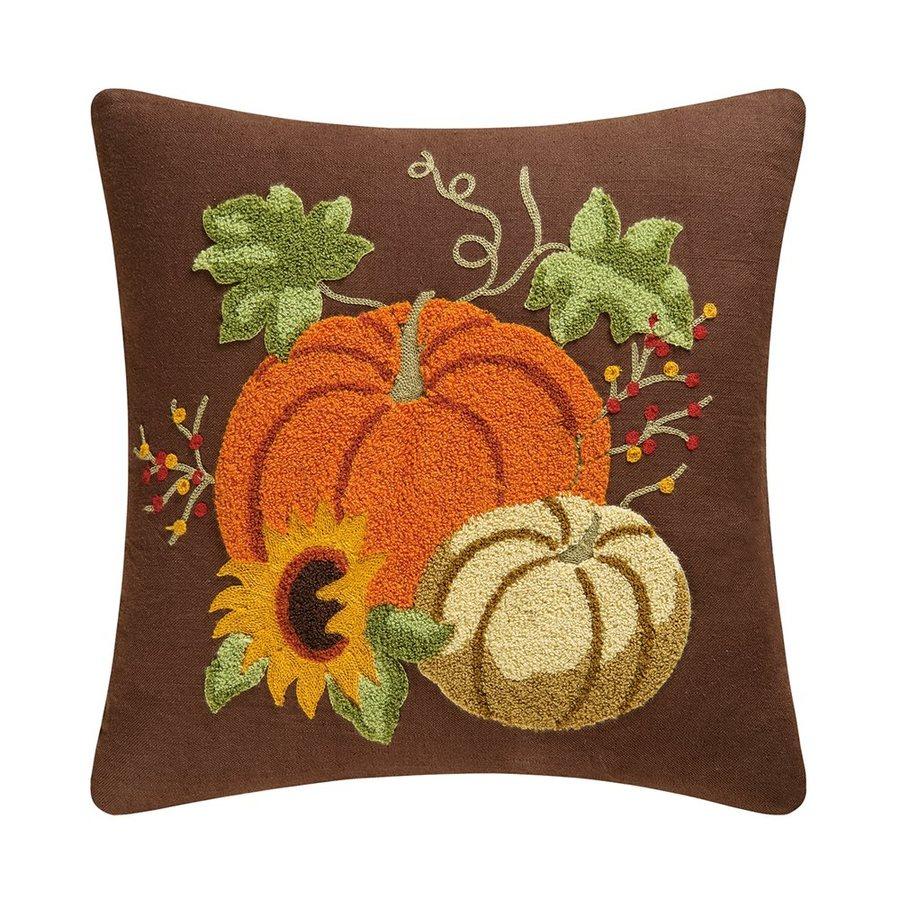 C&F Enterprises Autumn Splendor Pumpkin Pillow Indoor Thanksgiving Decoration