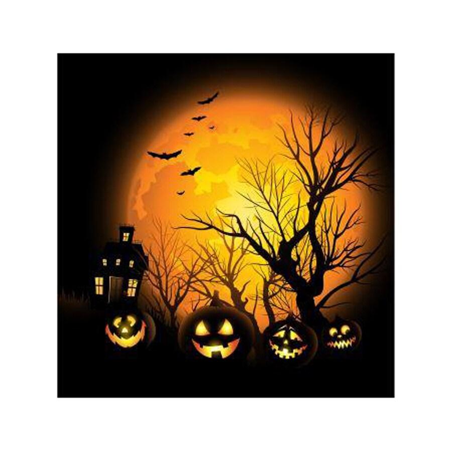 ICONICS Spooktacular Halloween Wall-Mounted Metal Wall Art