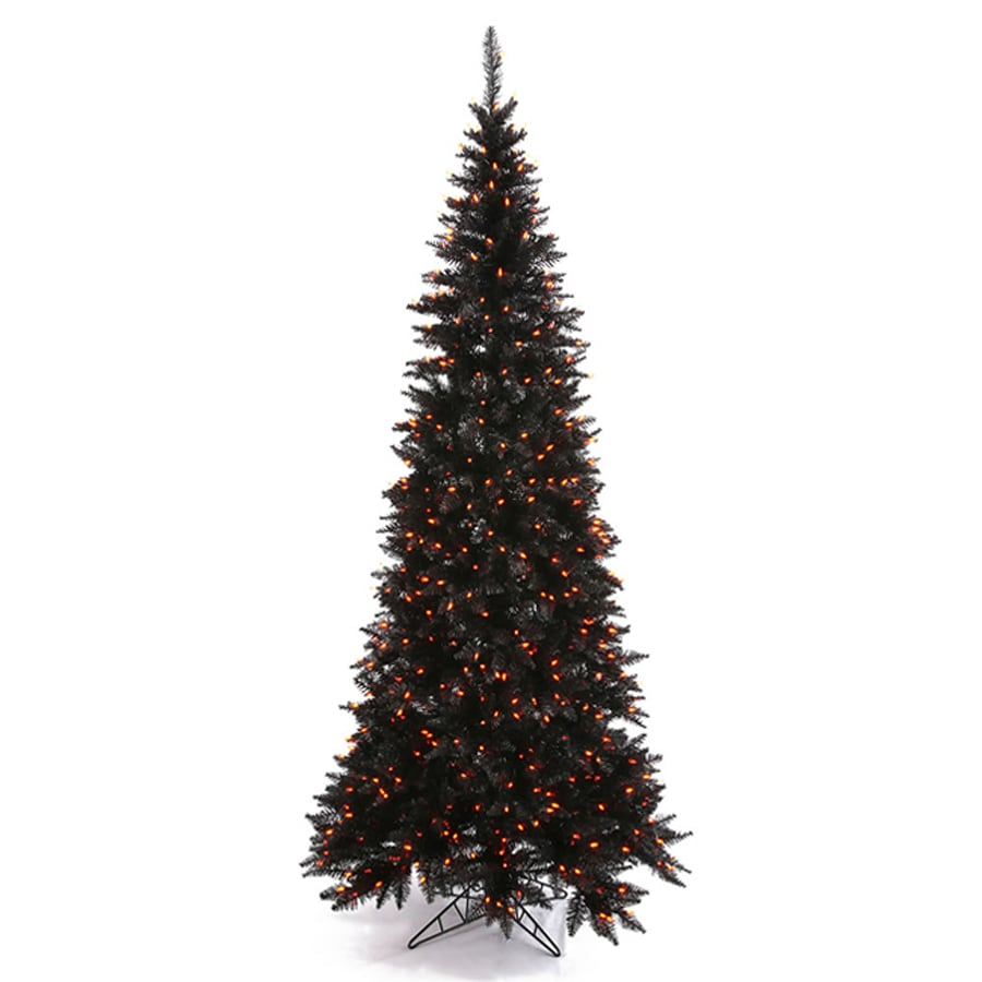 Slim Prelit Christmas Tree