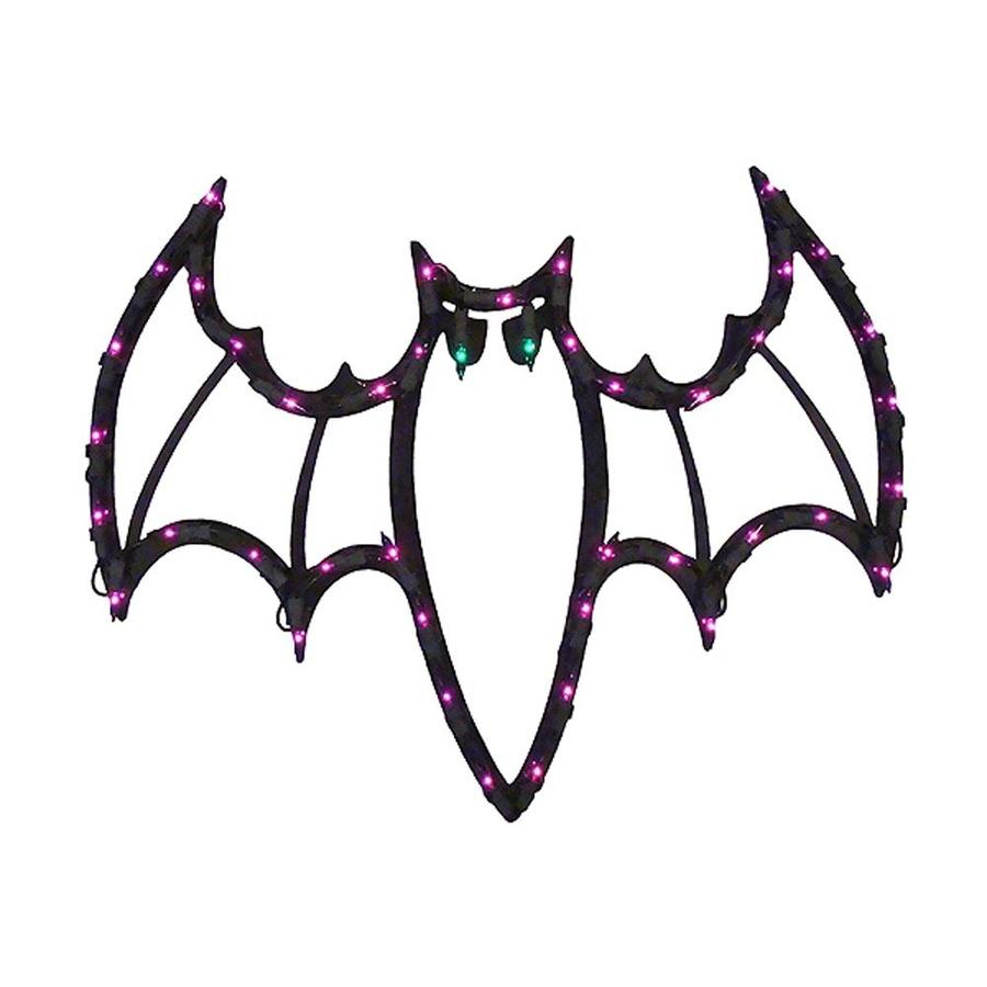 Northlight Pre-Lit Bat Novelty Light with Constant Purple Incandescent Lights
