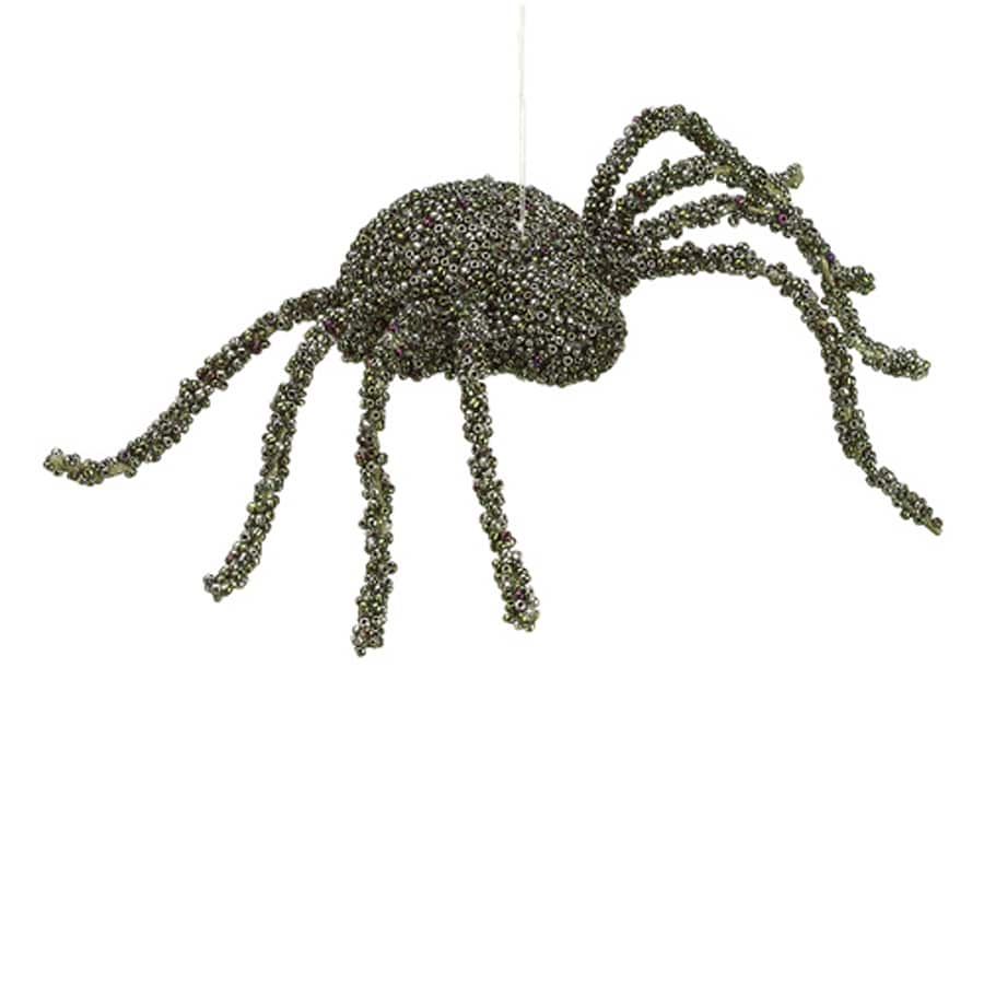Northlight Creepy Beaded Hanging Spider