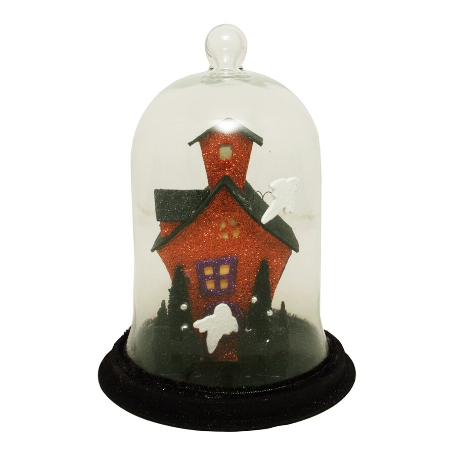 Northlight Pre-Lit Tabletop Haunted House Figurine with LED Lights