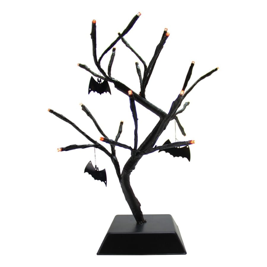 Northlight Pre-Lit Tree Figurine with Constant Orange LED Lights