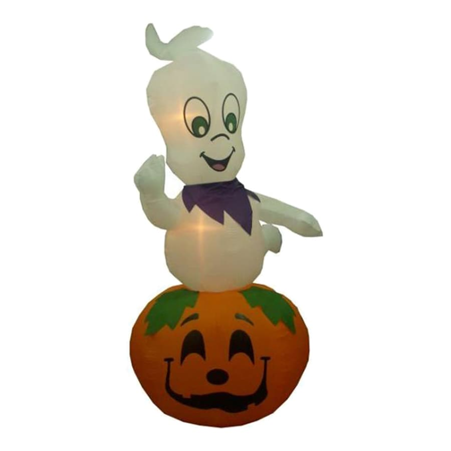 Northlight 9-ft x 5-ft Lighted Ghost Halloween Inflatable