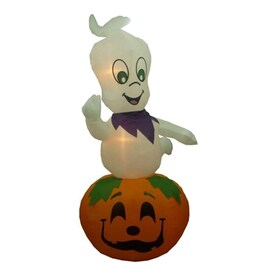 northlight 9ft x 5ft lighted ghost halloween inflatable