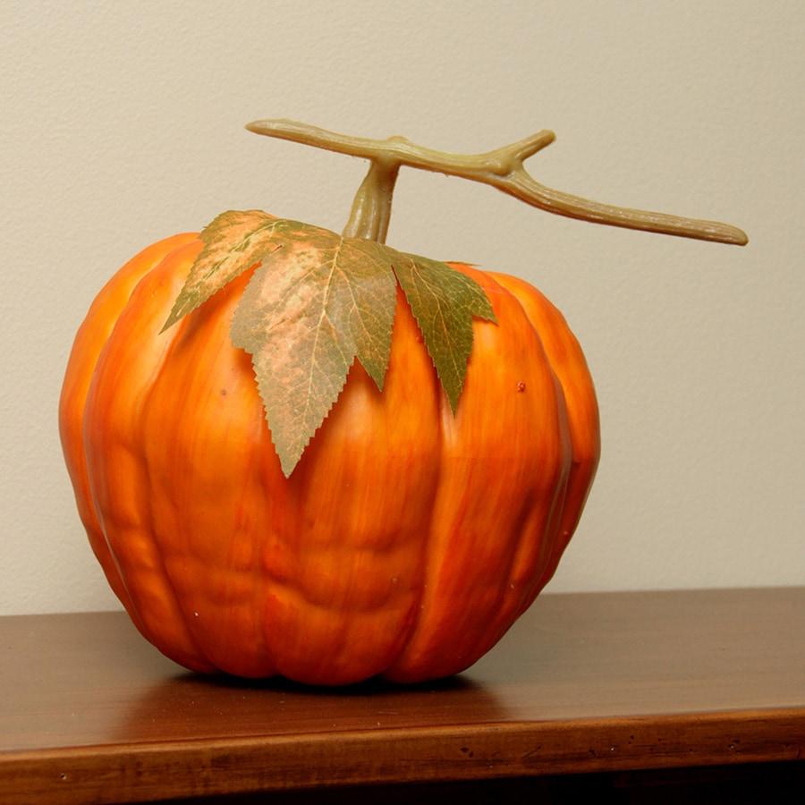 Northlight Plastic Pumpkin Figurine Indoor Thanksgiving Decoration