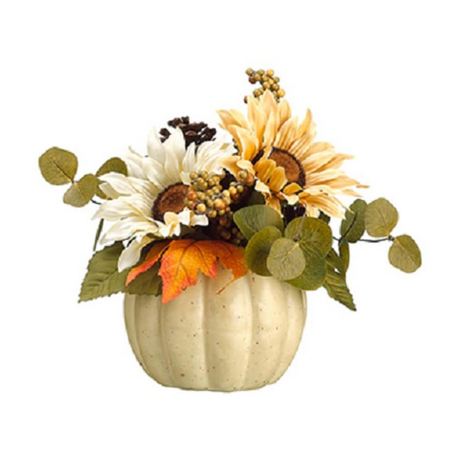 Northlight Plastic Pumpkin Figurine