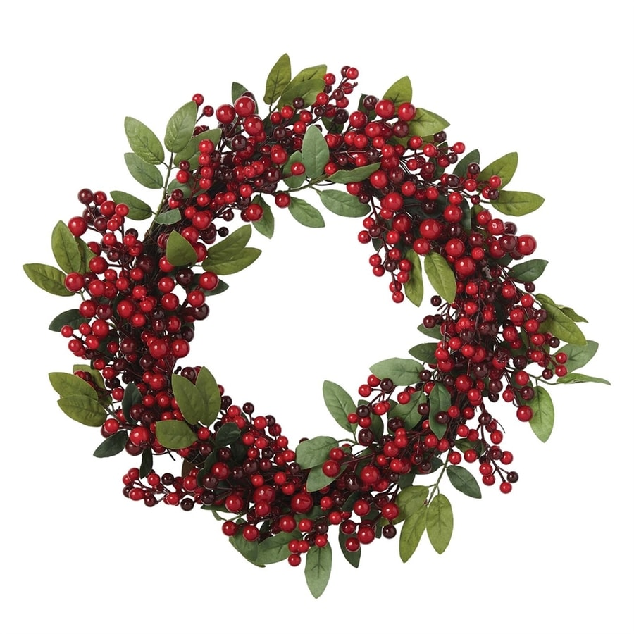 Design Imports 22-in Indoor Artificial Christmas Wreath