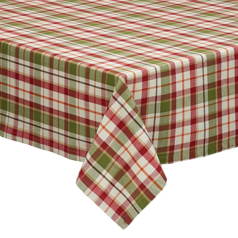 Design Imports Cotton Pattern Tablecloth