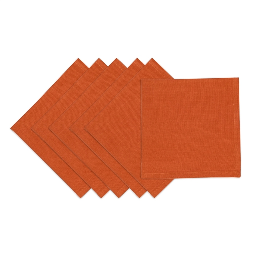 Design Imports 6-Piece Cotton Solid Napkin