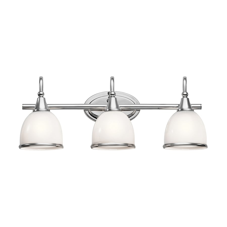 Kichler Lighting Rory 3-Light 9.25-in Chrome Dome Vanity Light