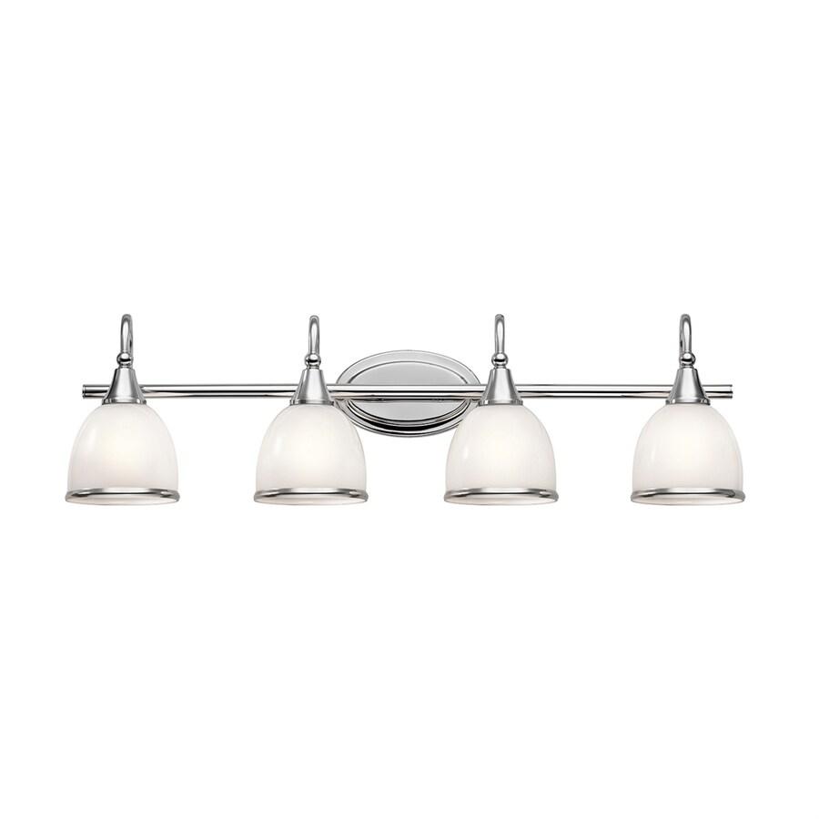 Kichler Rory 4-Light 9.25-in Chrome Dome Vanity Light