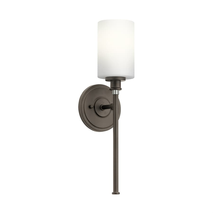 Kichler Joelson 1-Light 18.25-in Olde Bronze Cylinder Vanity Light