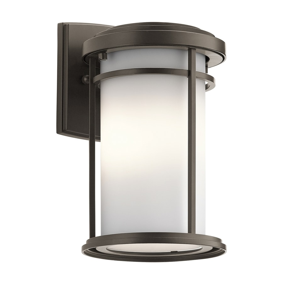 Shop Kichler Lighting Toman H Olde Bronze Outdoor Wall Light At Lowe